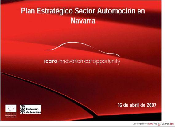 plan estratégico automóvil navarra