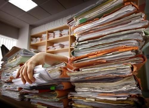 Papeles compartiendo conocimiento for Descripcion de una oficina