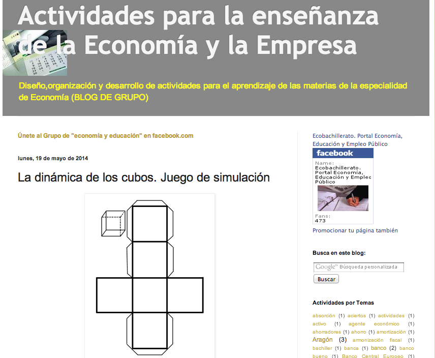 Dinamica De Los Cubos Juego De Simulacion Para Clase Compartiendo